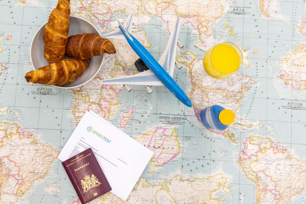 coronatest met internationaal reiscertificaat